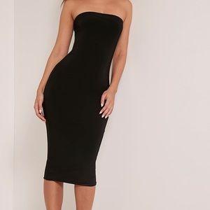 Windsor Black Sexy Bodycon Strapback Dress